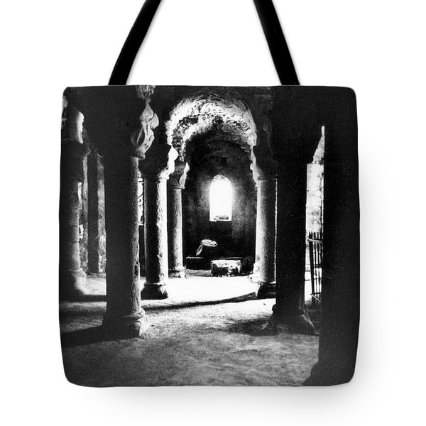 The Crypt Tote Bag by Simon Marsden