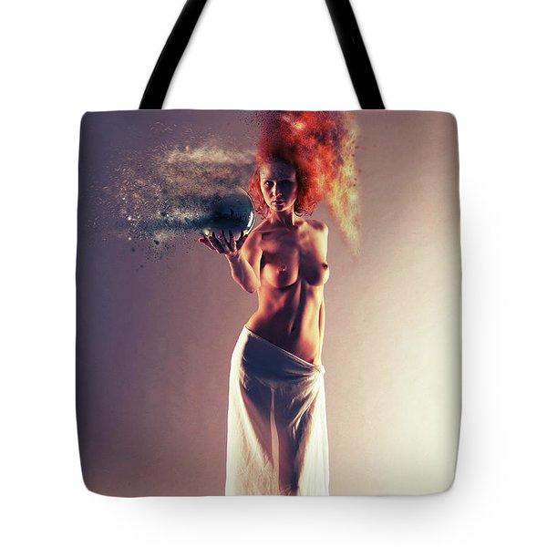 The Crystal Ball Tote Bag