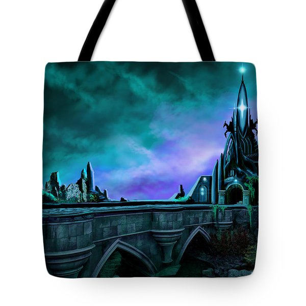 The Crystal Palace - Nightwish Tote Bag by James Christopher Hill