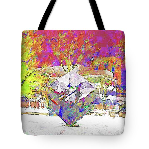 The Cube Tote Bag