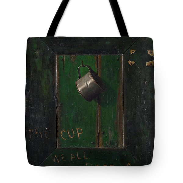 The Cup We All Race 4 Tote Bag