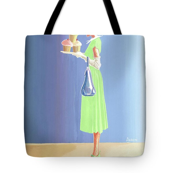 The Cupcake Lady Tote Bag