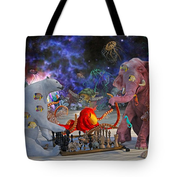 The Curious Game Tote Bag