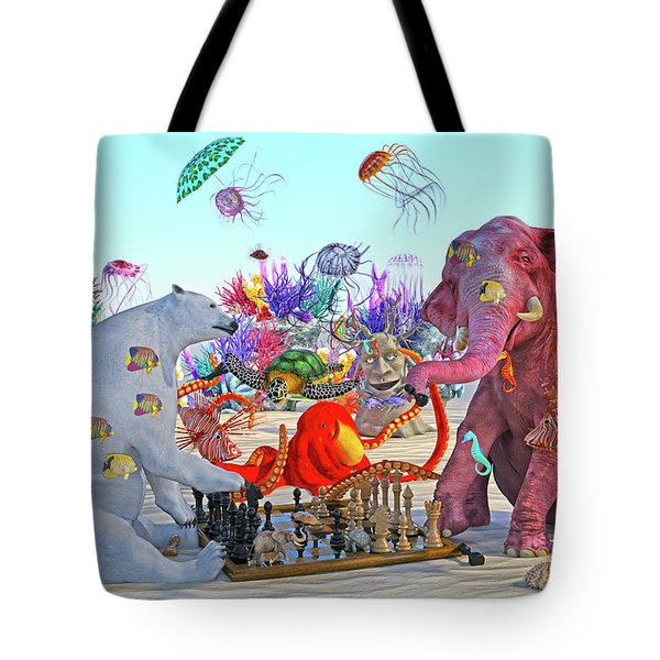 The Curious Game Hc Tote Bag