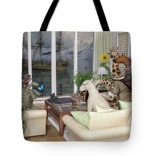 The Curious Room Tote Bag