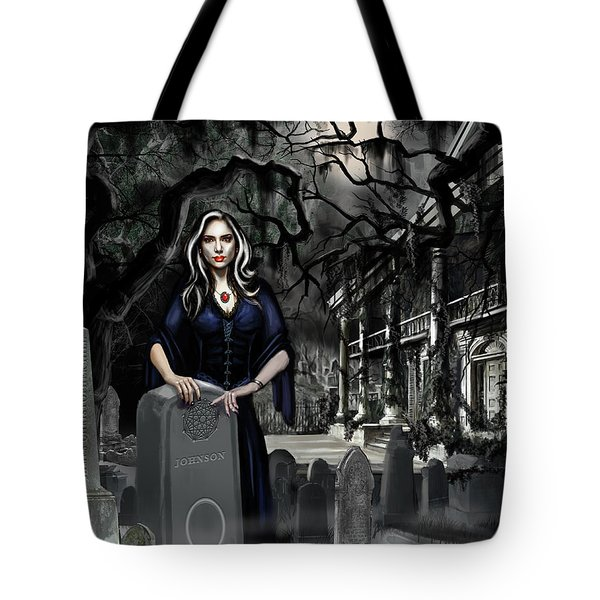 The Curse Of Johnson Bayou Tote Bag by James Christopher Hill
