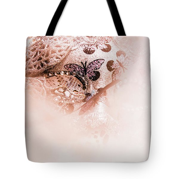 The Curtain Close Tote Bag