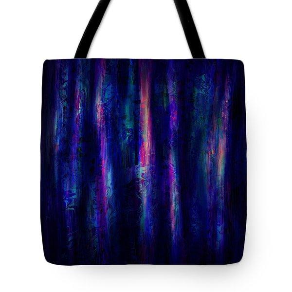The Curtain Tote Bag by Rachel Christine Nowicki