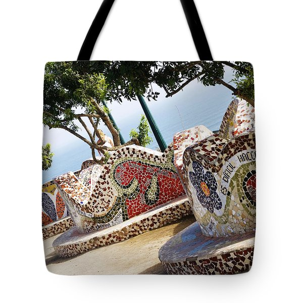 The Curves Of Parque Del Amor Tote Bag