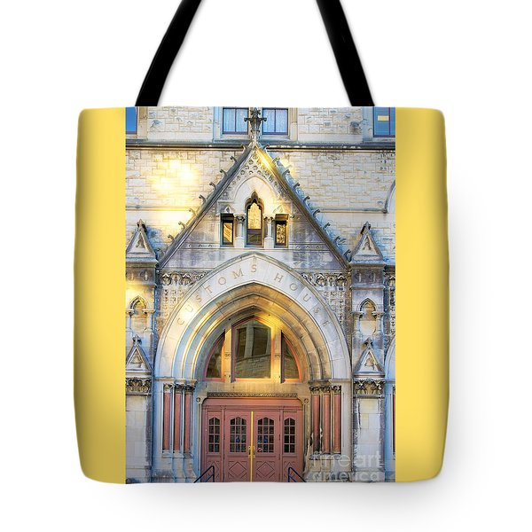 The Customs House Tote Bag