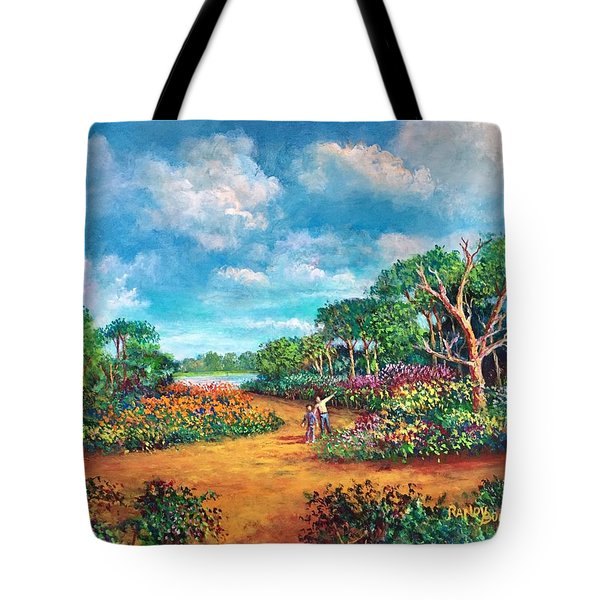 The Cycle Of Life Tote Bag by Randy Burns
