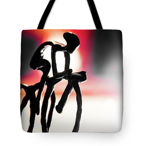 The Cycling Profile  Tote Bag