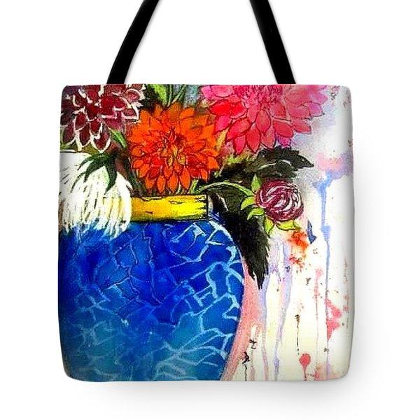 The  Dahlias Tote Bag