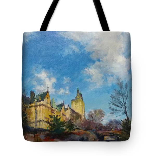 The Bridle Path, Central Park Tote Bag