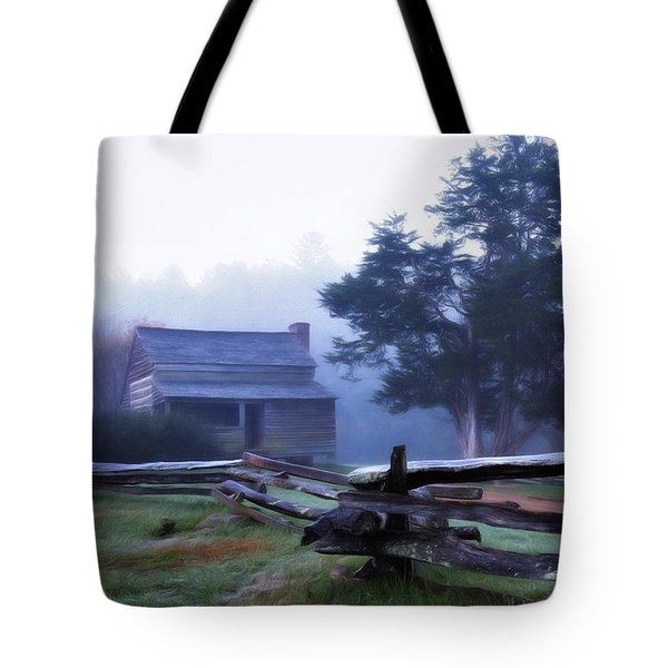 Tote Bag featuring the photograph The Dan Lawson Place by Lana Trussell