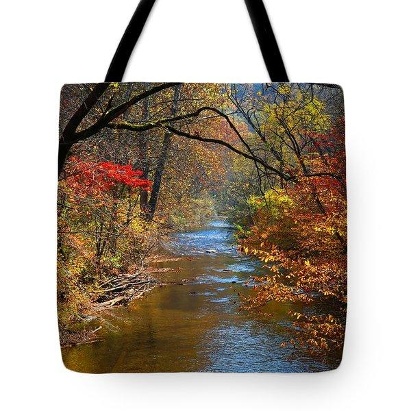 The Dan River Tote Bag