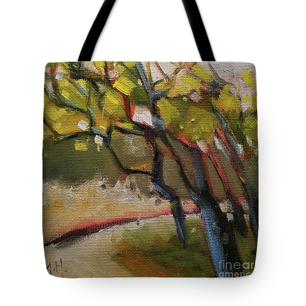 The Dance Abstract Tree Woods Forest Wild Nature Tote Bag