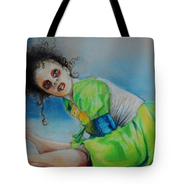 The Dance Is Over Tote Bag
