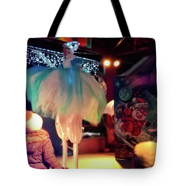 Tote Bag featuring the photograph The Dance- by JD Mims