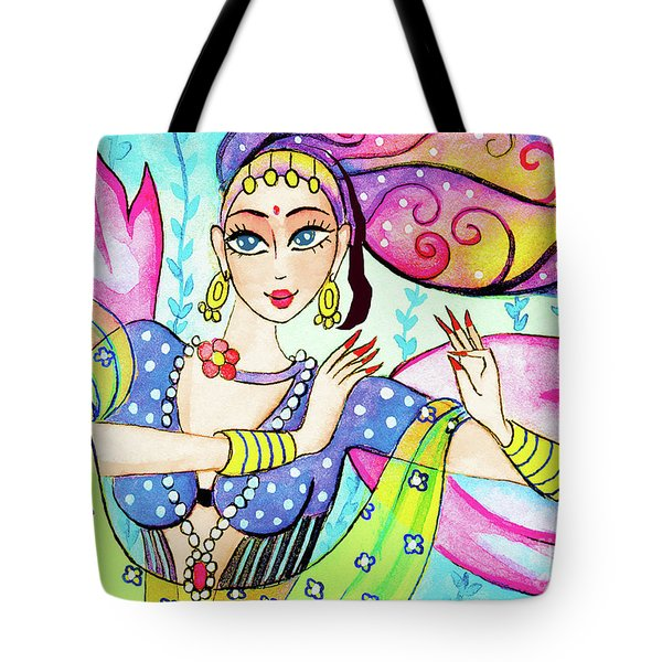 The Dance Of Pari Tote Bag