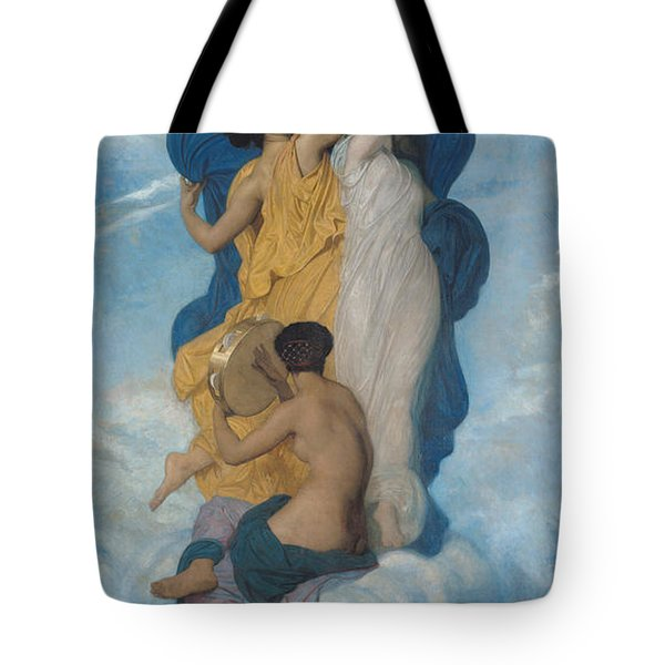 The Dance Tote Bag by William-Adolphe Bouguereau