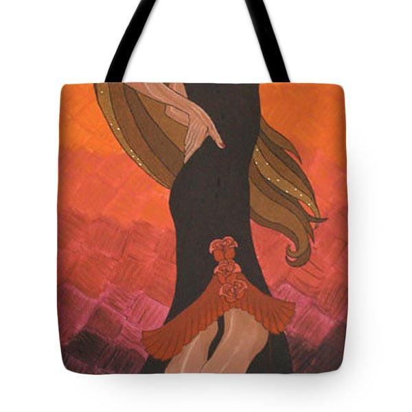 The Dancer Tote Bag by Emmely  Hillewaert