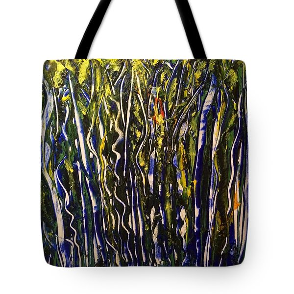 The Dancing Garden Tote Bag
