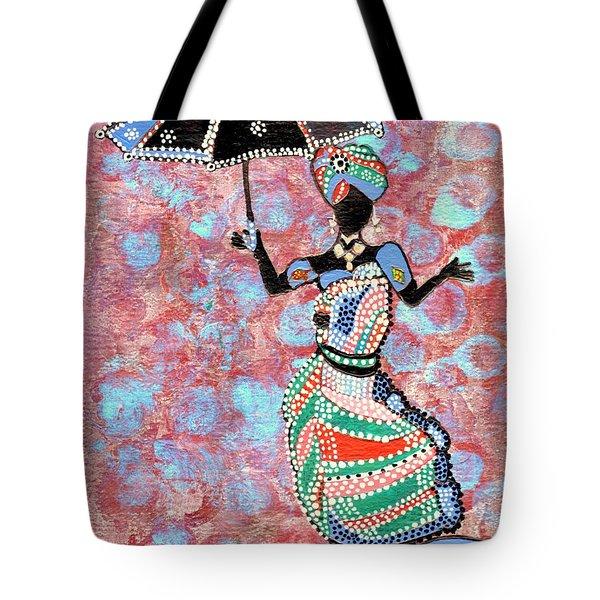 The Dancing Lady Tote Bag