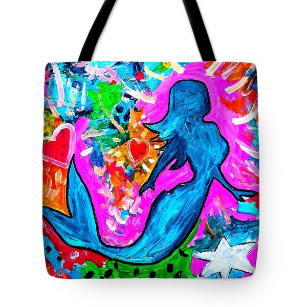The Dancing Mermaid Tote Bag