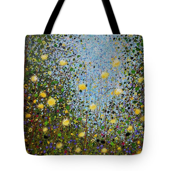 The Dandelion Patch Tote Bag