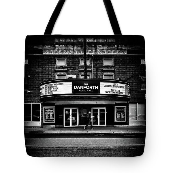 The Danforth Music Hall Toronto Canada No 1 Tote Bag by Brian Carson
