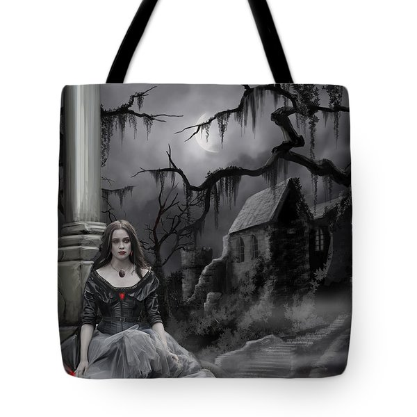 The Dark Caster Awaits Tote Bag by James Christopher Hill