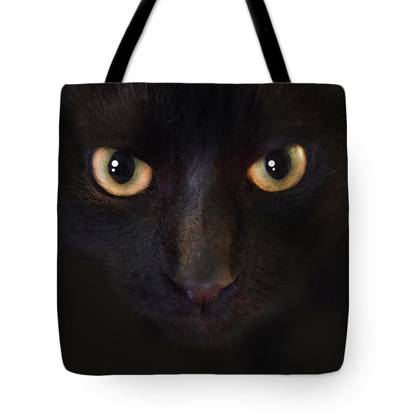 The Dark Cat Tote Bag by Gina Dsgn