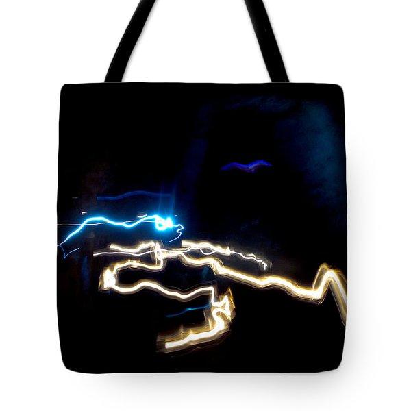 The Dark Cave Tote Bag