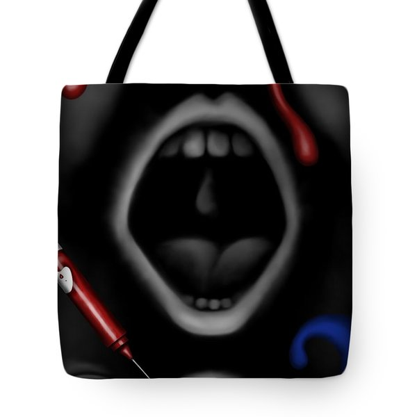 The Dark Place Tote Bag