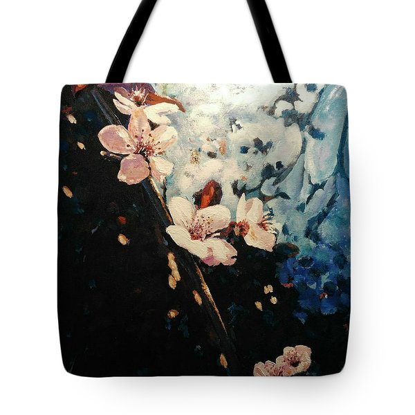 The Dark Side In Me Tote Bag