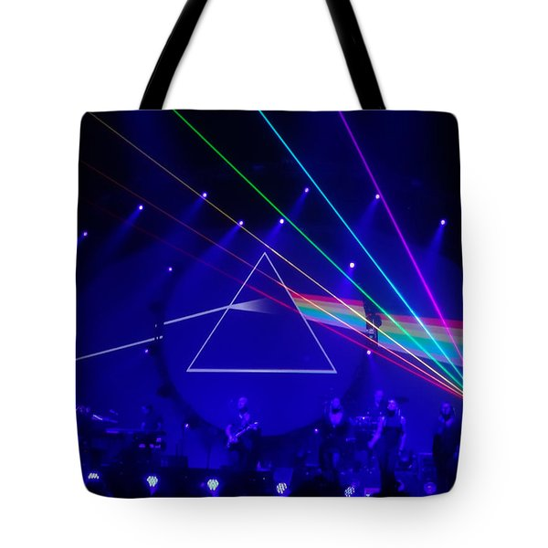 The Dark Side Of The Moon. Brit Floyd Space And Time World Tour 2015 Tote Bag