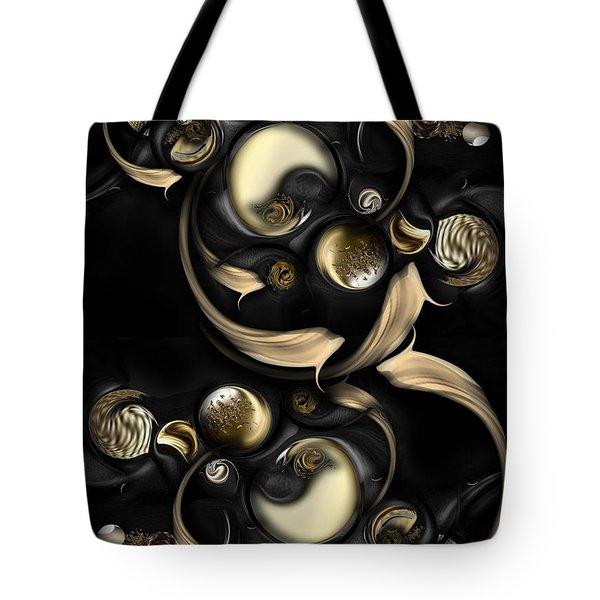 The Darkened Meditation Tote Bag