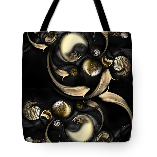 The Darkened Meditation Tote Bag by Carmen Fine Art