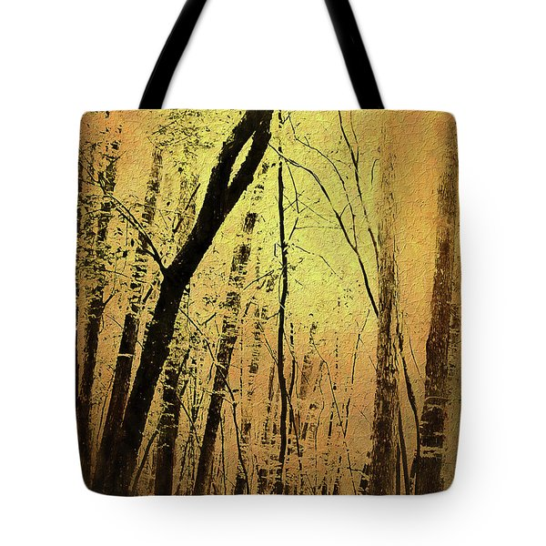 The Dawn Of The Trees Tote Bag