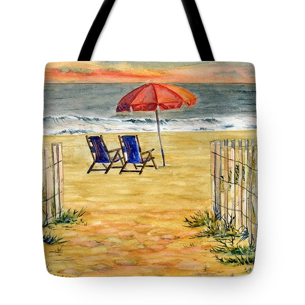 The Day Awaits  Tote Bag by Melly Terpening