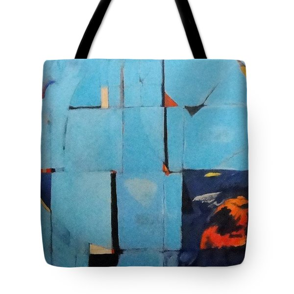 The Day Dispatches The Night Tote Bag