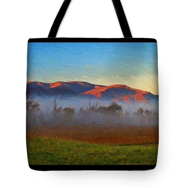 The Day Starts Tote Bag
