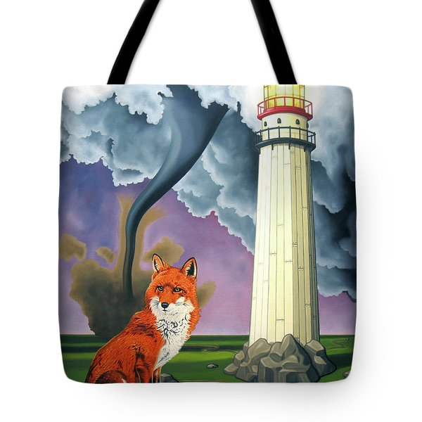 The Day The Rocks Ran Away Tote Bag