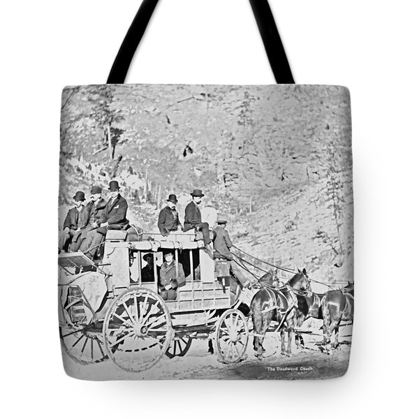 The Deadwood Coach Tote Bag