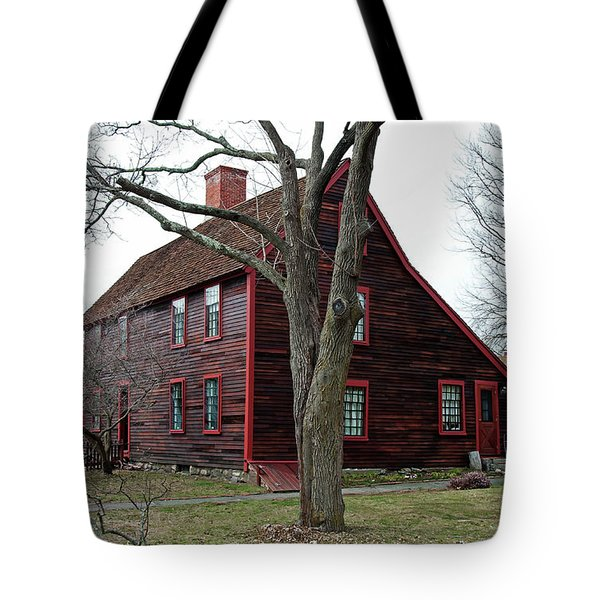 Tote Bag featuring the photograph The Deane Winthrop House by Wayne Marshall Chase