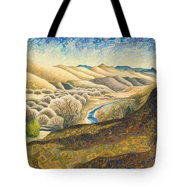 The Dearborn River Tote Bag by Dale Beckman