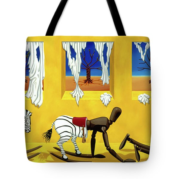 The Death Of Innocence Tote Bag