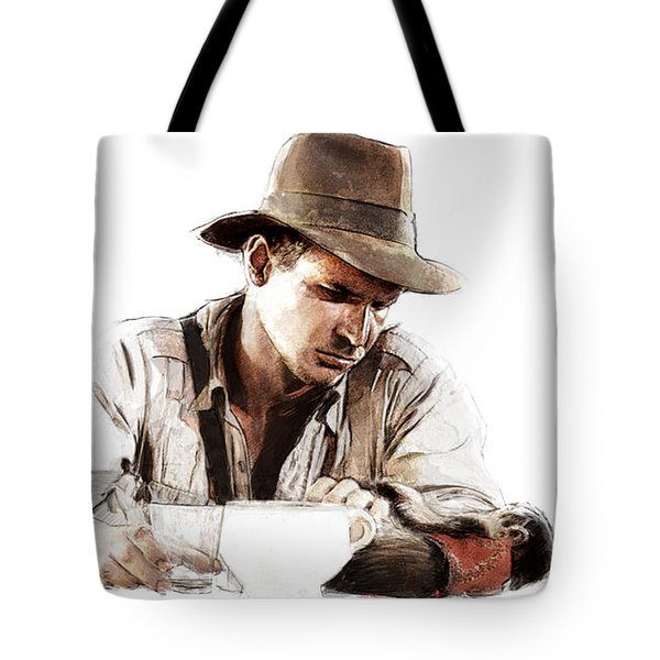 The Death Of Marion Tote Bag by Kurt Ramschissel