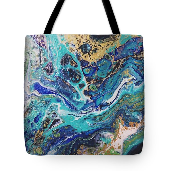 The Deep Blue Sea Tote Bag